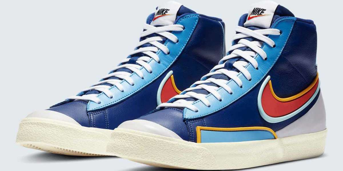 DA7233-400 Nike Blazer Mid '77 D/MS/X Sneakers could be released later this year!