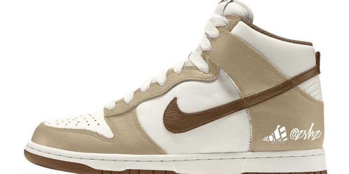 """DH5348-100 Nike Dunk High Premium""""Light Chocolate"""" to release sometime during August 2021"""