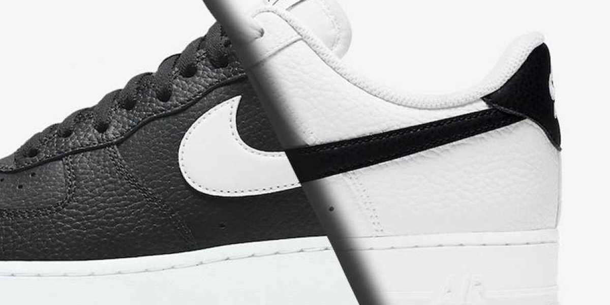 Classic Nike Air Force 1 Low Black and White Colorway Releasing Soon