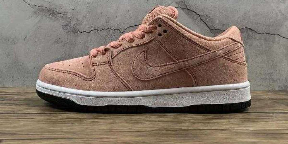 New Brand 2021 Nike SB Dunk Low Pink Pig for Online Sale