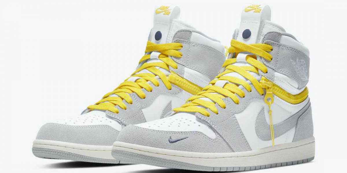 "Best Selling Air Jordan 1 High Switch ""Light Smoke Grey"" CW6576-100 For 2021 Christmas"