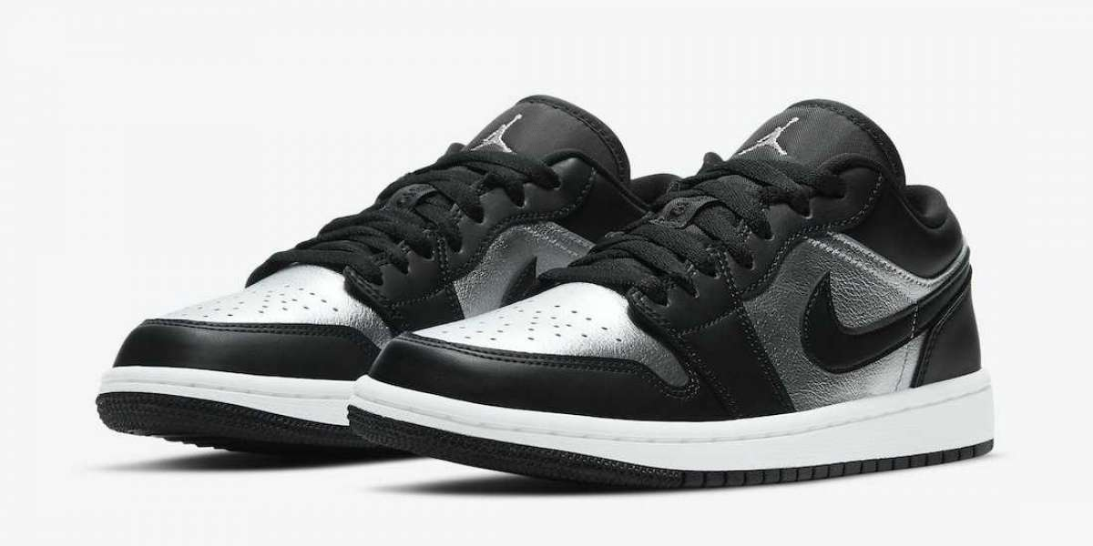 "2021 Latest Air Jordan 1 Low ""Silver Toe"" DA5551-001 Coming Soon"
