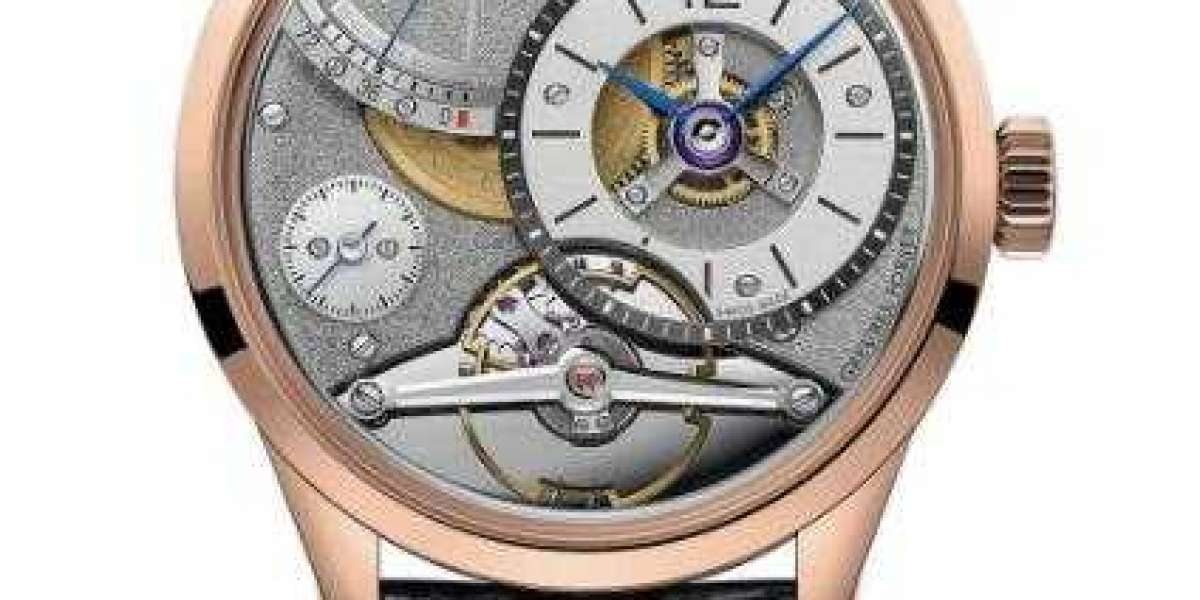 Greubel Forsey GMT watch GMT White gold Anthracite gold dial Online