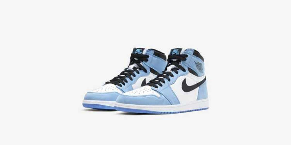 "How did you find these Nike Air Jordan 1 ""University Blue"" 555088-134 shoes?"
