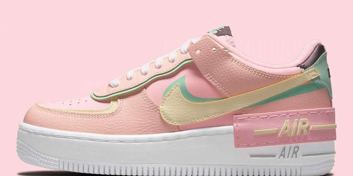 """CU8591-601 Nike Wmns Air Force 1 Shadow """"Arctic Punch"""" is on sale"""