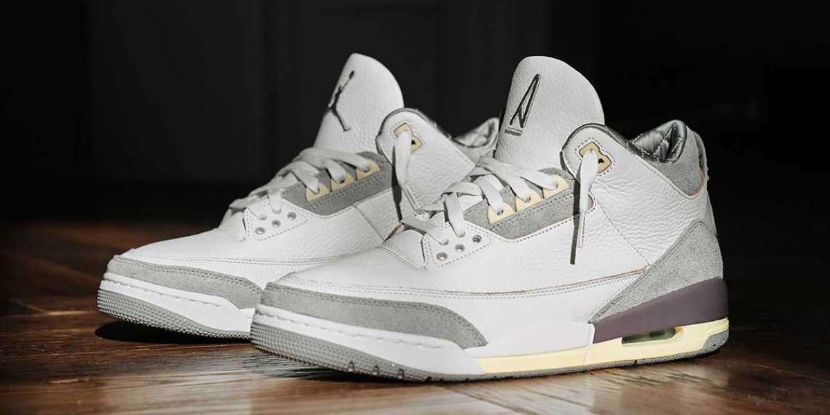 "A Ma Maniere x Air Jordan 3 Retro SP ""Violet Ore Officially released on March 30th"