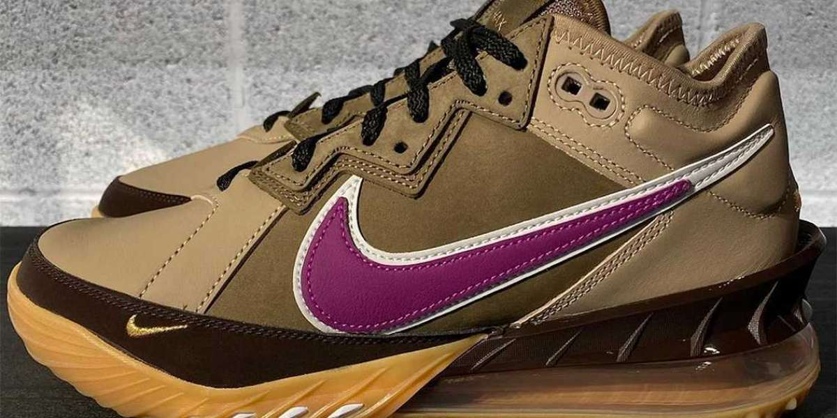 "New 2021 Nike LeBron 18 Low ""Viotech"" Basketball Shoes"