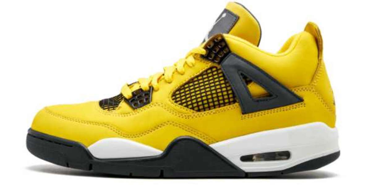 """Are you still worried about not being able to buy Air Jordan 4 Retro """"Lightning"""" Basketball Shoes CT8527-700?"""