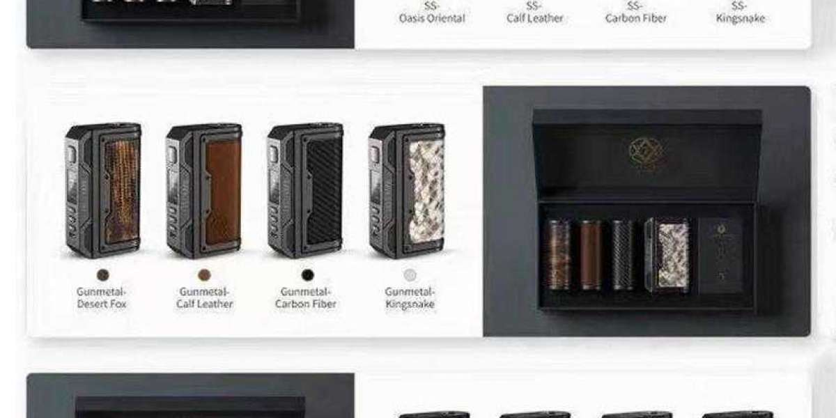 The e-cigarette gift box everyone wants to own!