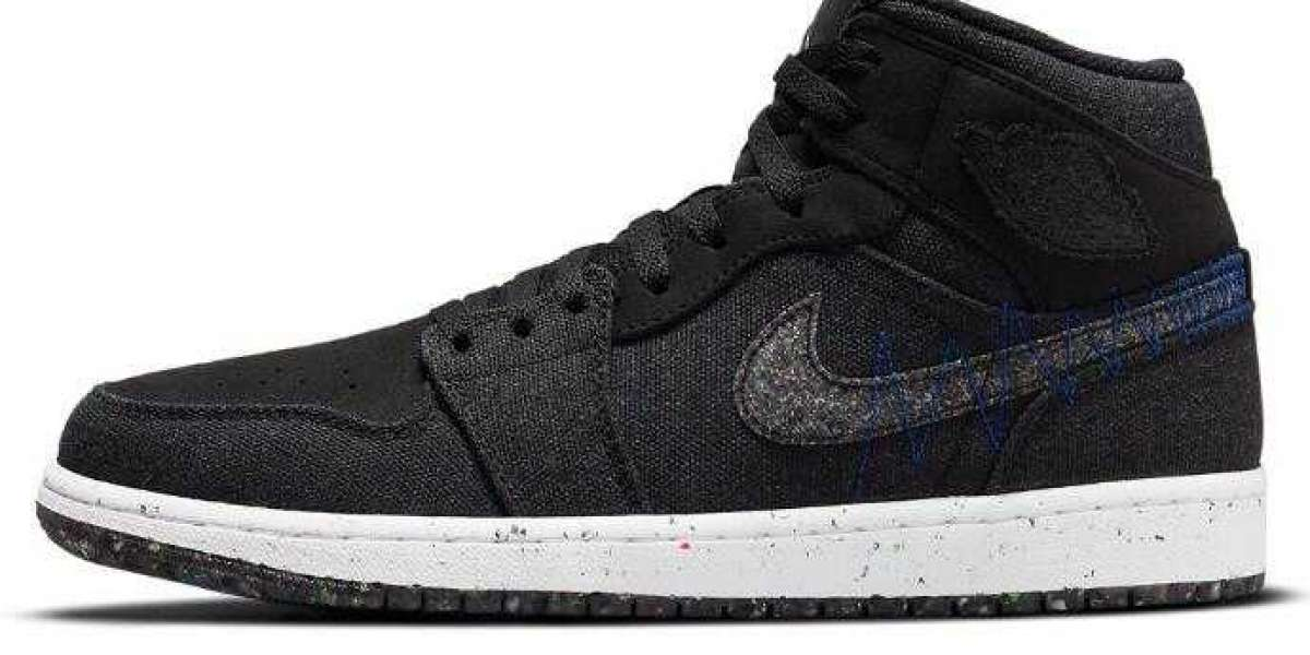 New Release Air Jordan 1 Mid Is Made of Sustainable Materials Coming Soon
